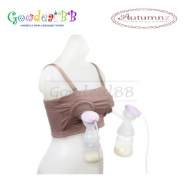 Autumnz Hands Free Pumping Bra with Bra Extender (L size)